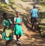 Off to Thornton Primary School in Jamaica