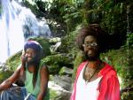 """Renny and Mokko Read about Renny in the book """"Rasta Heart"""""""
