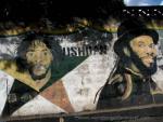 Bushman on National Hero's wall