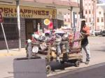 Street vendor, Port Antonio