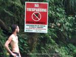 Hey Ben! No Trespassing!