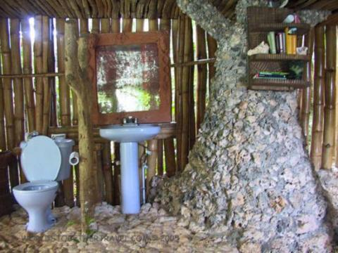 Eco friendly caribbean for Bathroom designs jamaica